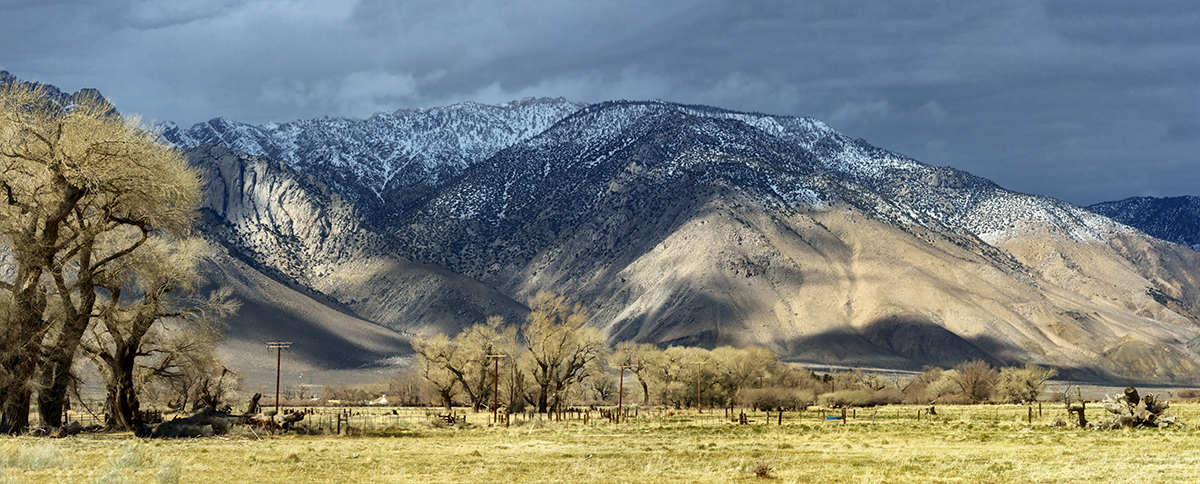 Winter Landscape, Alabama Hills and the SierrasImage No: 17-00165053   Click HERE to Add to Cart