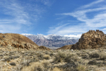 Winter Landscape, Alabama Hills and the SierrasImage No: 17-001734   Click HERE to Add to Cart