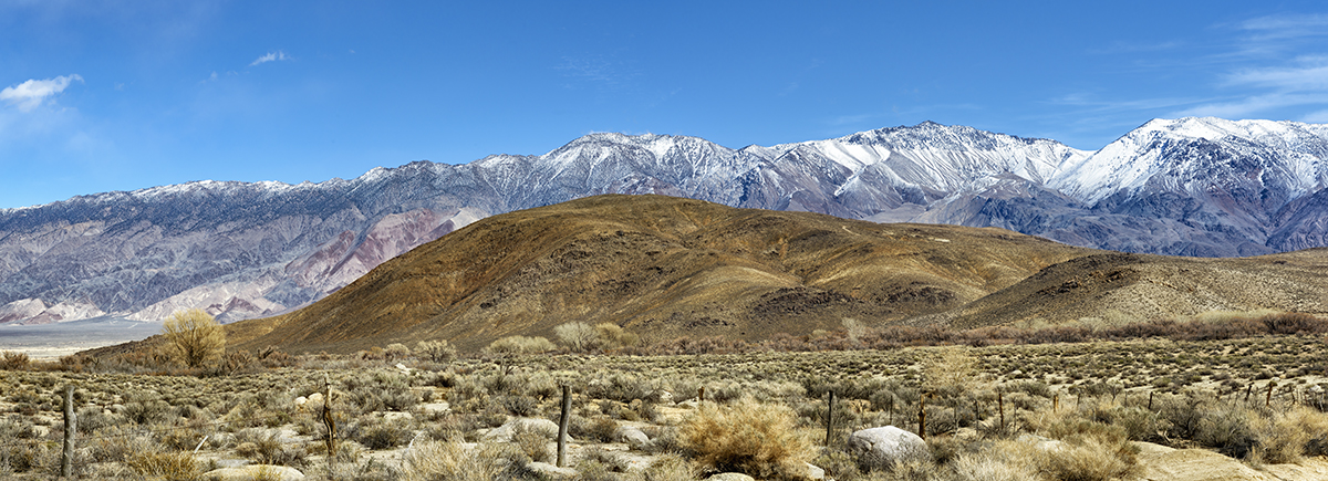 Winter Landscape, Alabama Hills and the Inyo MountainsImage No: 17-00186873   Click HERE to Add to Cart