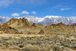Winter Landscape, Alabama Hills and the Inyo MountainsImage No: 17-001890   Click HERE to Add to Cart