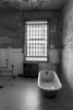Alcatraz Prison, California, USAImage No: 16-003802-bw  Click HERE to Add to Cart