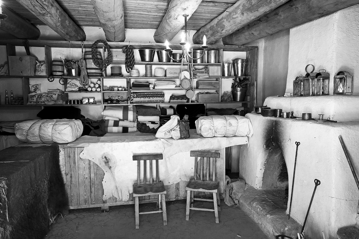 Bent's Old Fort National Historic Site, ColoradoImage no: 17-019950-bw   Click HERE to Add to Cart