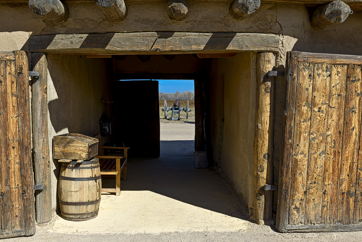 Bent's Old Fort National Historic Site, ColoradoImage no: 17-020183   Click HERE to Add to Cart