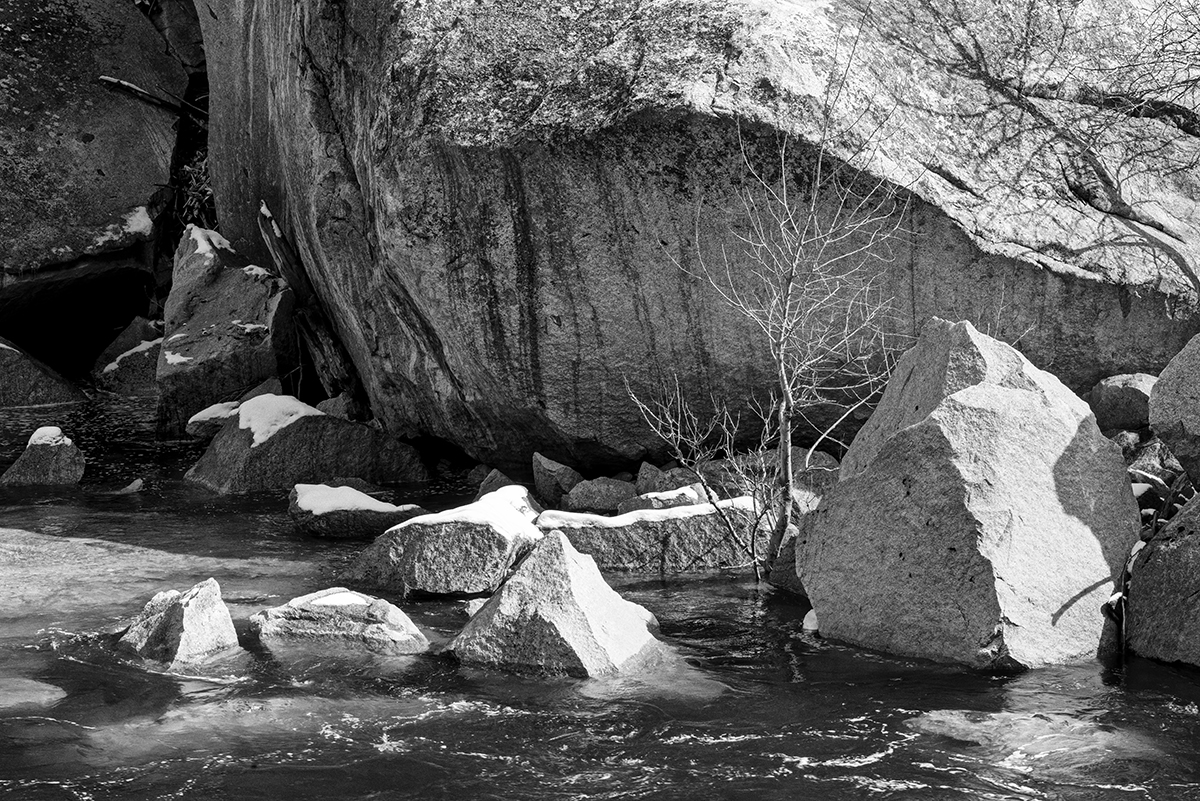 Winter Landscape photographs of Yosemite National ParkImage No: 17-002907-bw   Click HERE to Add to Cart