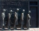 Great Depression, Franklin Delano Roosevelt Memorial, National Mall, Washington D.C.Image No: 090276.45  Click on link to add to cart  http://bit.ly/co7tcm