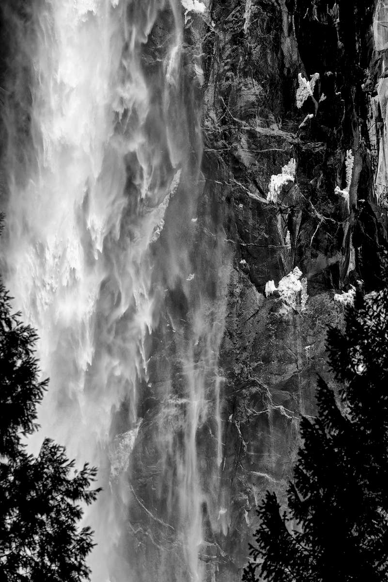 Winter Landscape photographs of Yosemite National ParkImage No: 17-002287-bw  Click HERE to Add to Cart