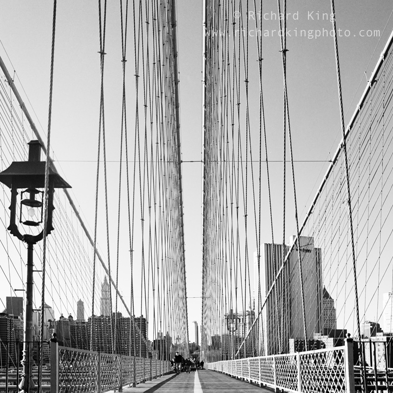 Brooklyn Bridge, New York CityImage No: 020091.01Click on link to add to cart http://bit.ly/9N17Bm