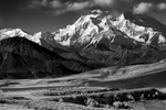 The Alaska RangeDenali National Park Road, AlaskaImage no: 16-309684-bw   Click HERE to Add to Cart