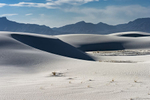 Black and White Image of the Dunes at White Sands, NM New MexicoImage no: 17-020898   Click HERE to Add to Cart