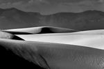 Black and White Image of the Dunes at White Sands, NM New MexicoImage no: 17-020903-bw   Click HERE to Add to Cart