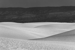 Black and White Image of the Dunes at White Sands, NM New MexicoImage no: 17-020978-bw   Click HERE to Add to Cart