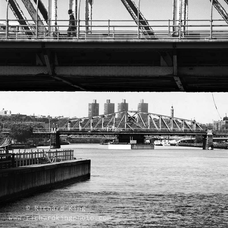 Madison Avenue Bridge &145th Street BridgeManhattan, New York, USAImage no: 020431.02Click HERE to add to cart