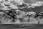 Midway Geyser BasinImage No: 17-005878-bw   Click HERE to Add to Cart