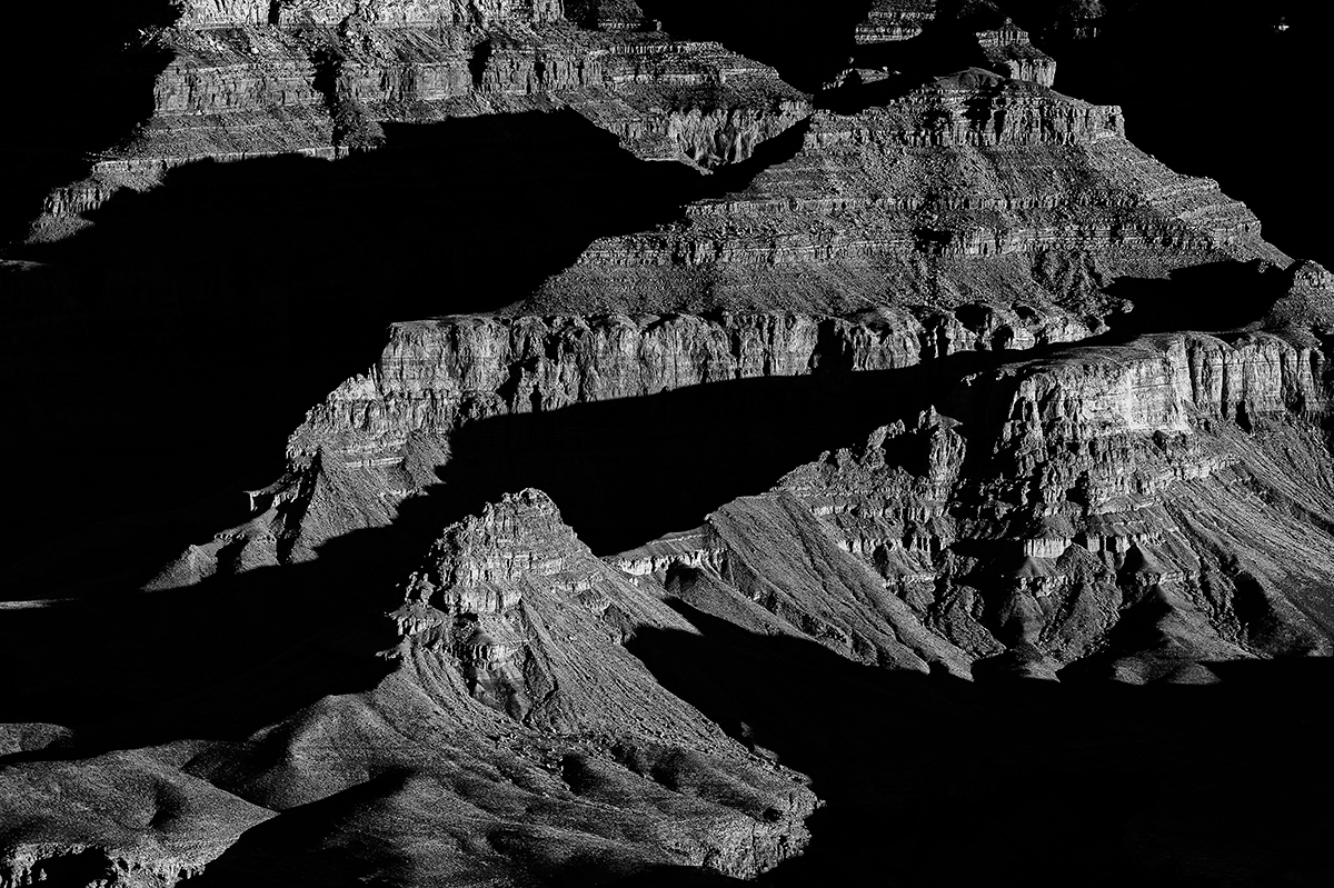 South Rim, Arizona, USAImage No: 13-002263-bwClick HERE to Add to Cart