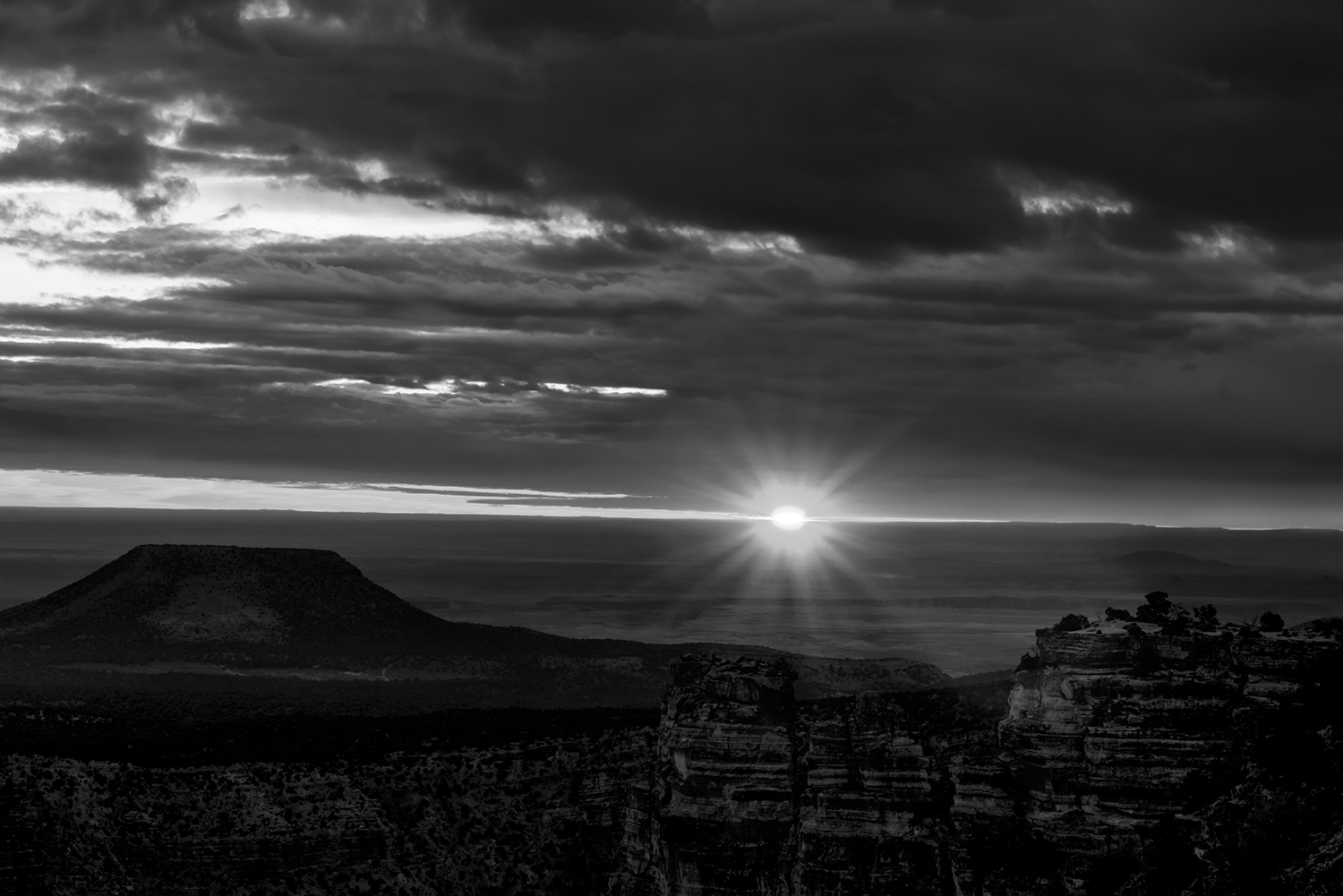 South Rim, Arizona, USAImage no: 18-005732-bw  Click HERE to Add to Cart
