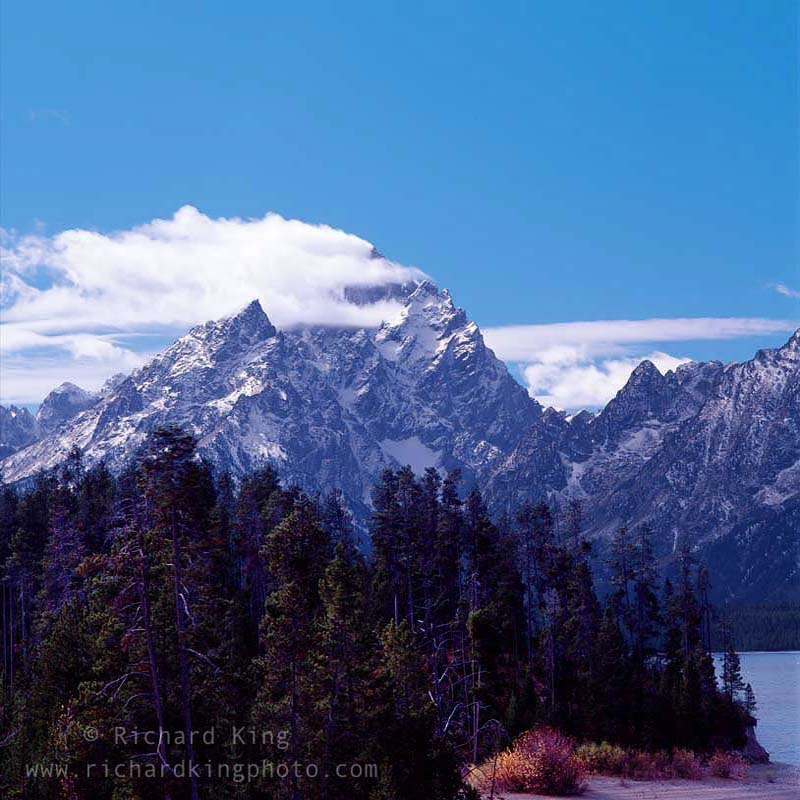 Grand Teton and Middle Teton Mountains,Wyoming, USAImage no: 060634.18Click on link to ad to carthttp://bit.ly/csLYdl