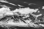Coast Mountains Between Haines, Alaska & Haines Junction, YukonImage no: 16-011224-bw   Click HERE to Add to Cart