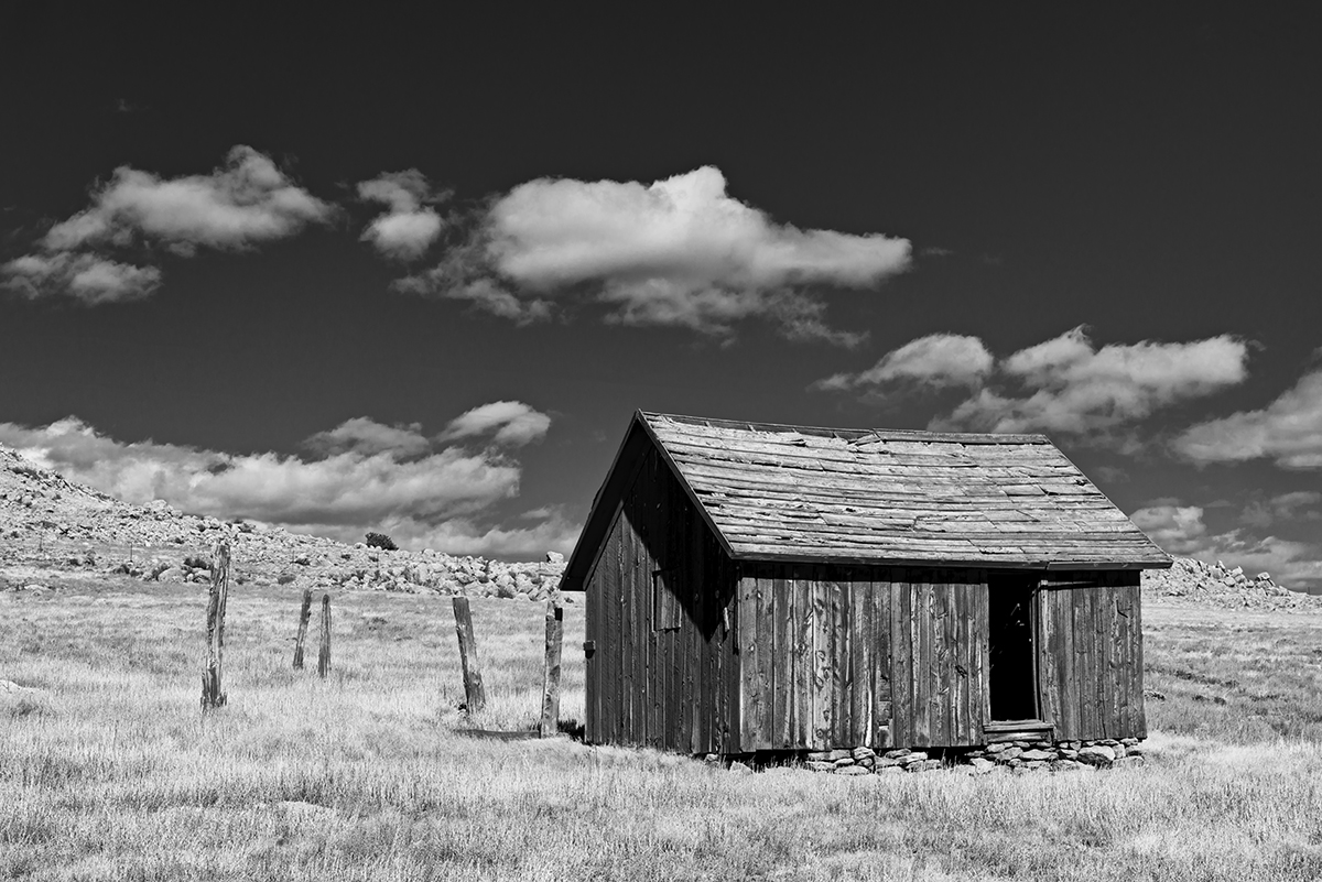 Landscapes from the High Country near Fairplay ColoradoImage no: 17-019714-bw   Click HERE to Add to Cart