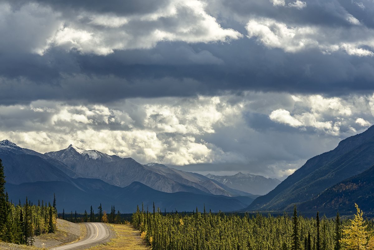 Highway 97 (Alaska Highway), YukonImage no: 16-312008    Click HERE to Add to Cart