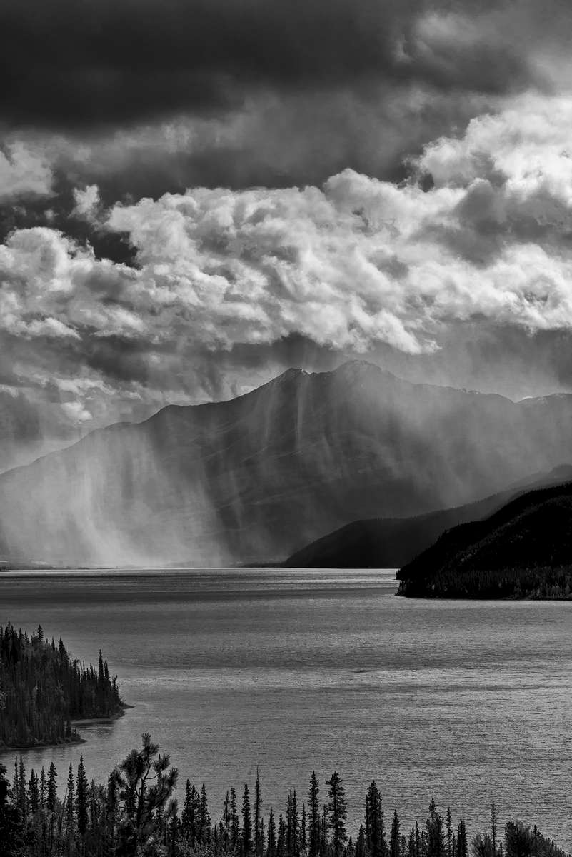 Highway 97, British Columbia, CanadaImage no: 16-312116-bw  Click HERE to Add to Cart