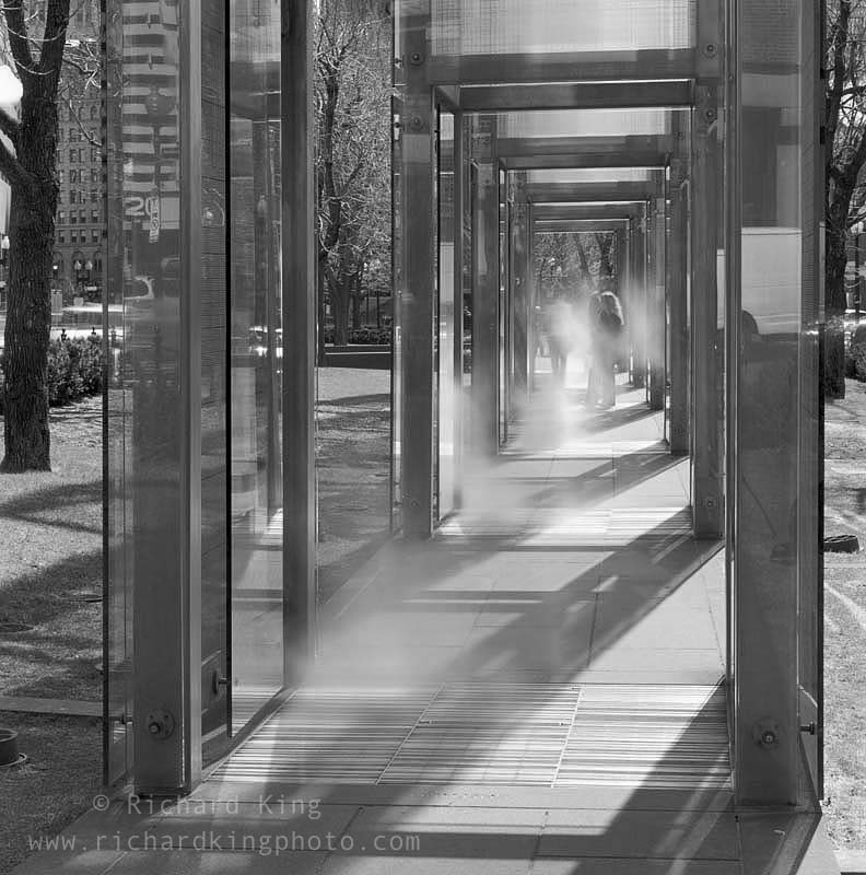 New England Holocaust Memorial,Boston, Massachusetts, USAImage no: 070131.11Click on link to add to cart http://bit.ly/buMskB