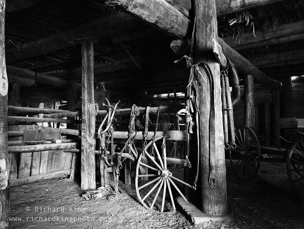 The restored Barn at Hubbell's Trading Post, National Historic Site, Arizona, USAImage no: 030231.03  Click HERE to add to cart