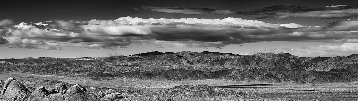 Desert Mountain Landscapes from CaliforniaImage No: 16-00261315-bw  Click HERE to Add to Cart