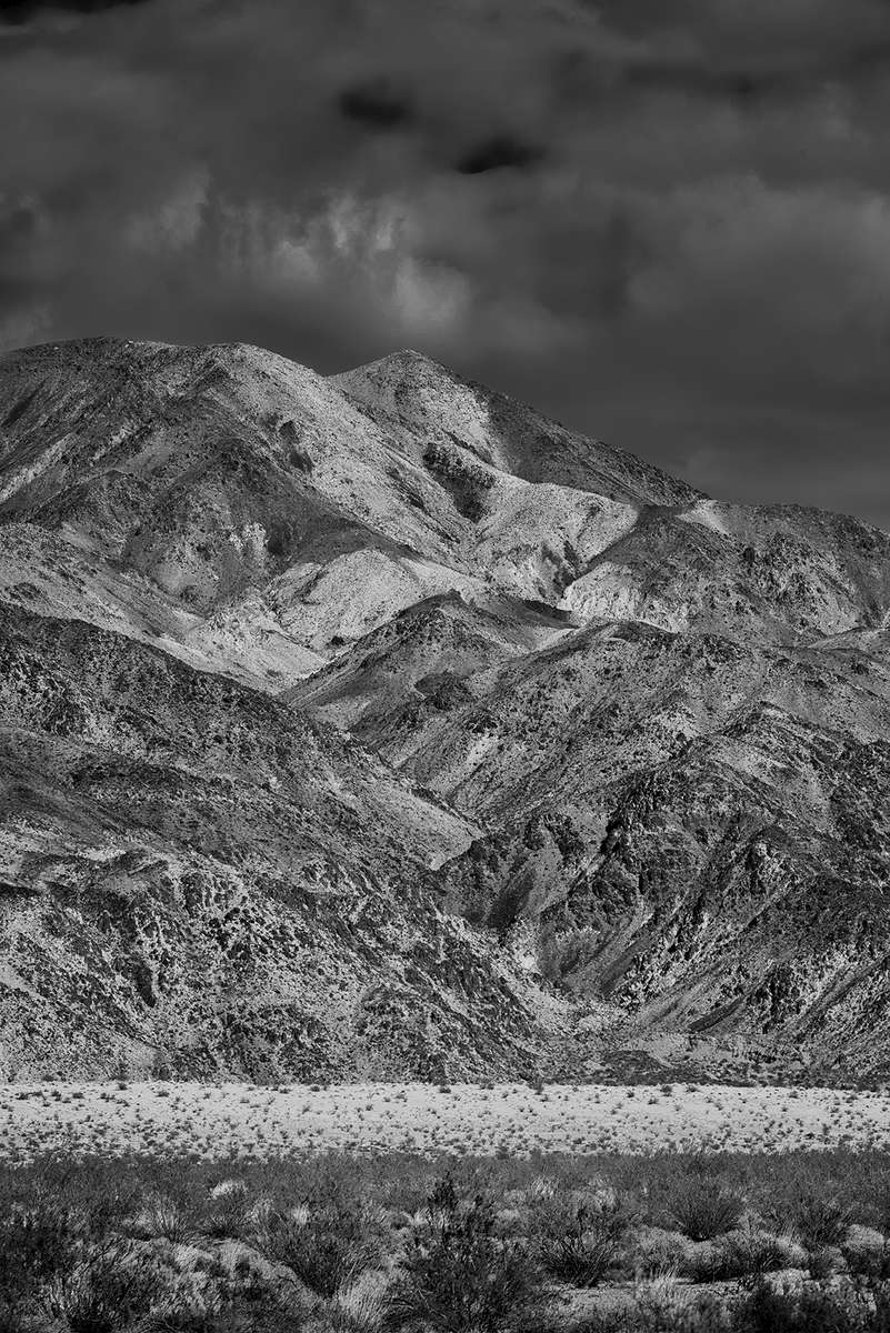 Desert Mountain Landscapes from CaliforniaImage No: 16-002668-bw  Click HERE to Add to Cart