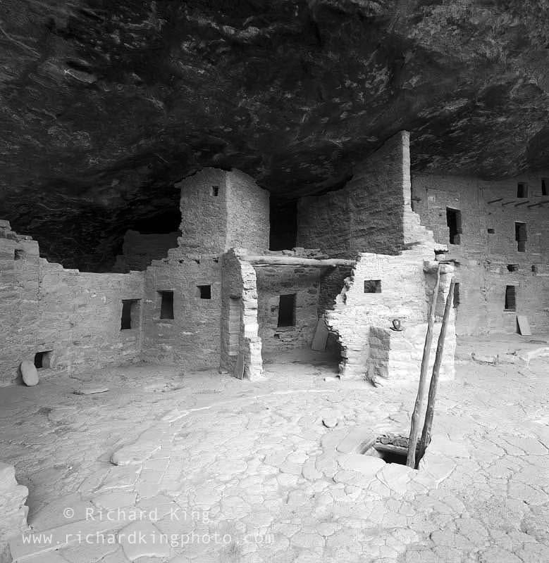 Anasazi Ruin, Spruce Tree HouseMesa Verde National Park,Colorado, USA, fine art print, giclee, pigment-on-paper, http://www.photoshelter.com/c/richardkingphoto/image/I0000MZzjBBCE0tU