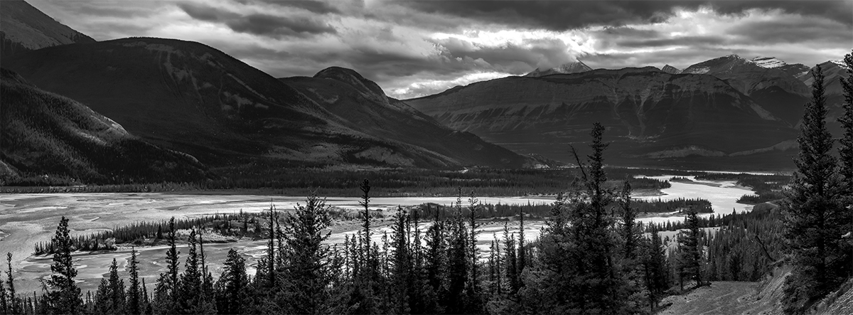 Jasper, AlbertaImage no: 16-383455-56-bw  Click HERE to Add to Cart