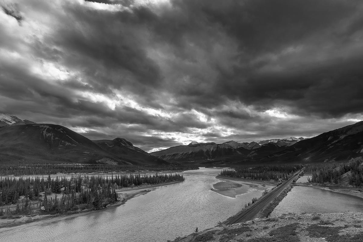 Jasper, Alberta, CanadaImage no: 16-383527-bw  Click HERE to Add to Cart