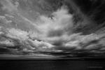 Landscape from Lake Michigan, MI, USA