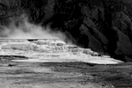 Mammoth Hot SpringsImage No: 17-009121-bw   Click HERE to Add to Cart