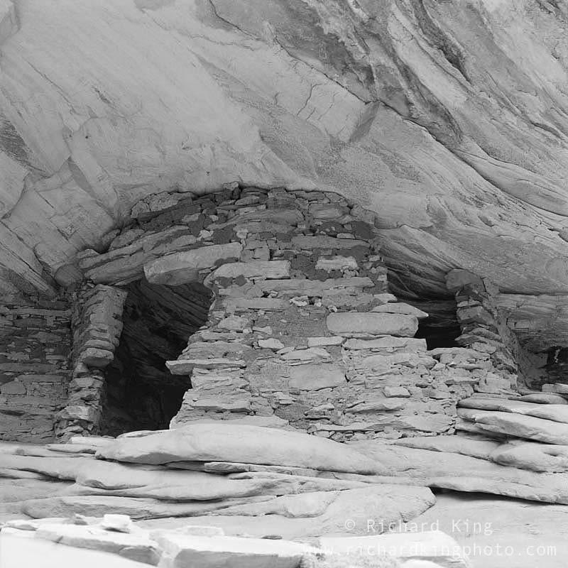 Anasazi Ruin, Ancient Pueblo DwellingColorado Plateau, Utah, USA, fine art print, giclee, pigment-on-paper, http://www.photoshelter.com/c/richardkingphoto/image/I0000ZI3NW.Iauvc