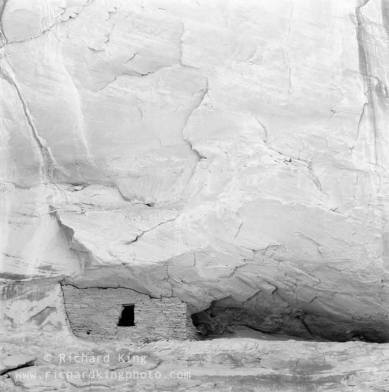 Anasazi Ruin, Mystery Valley,Monument Valley, Navajo Nation,Arizona, USA, fine art print, giclee, pigment-on-paper, http://www.photoshelter.com/c/richardkingphoto/image/I0000bbu6UoyoX9g