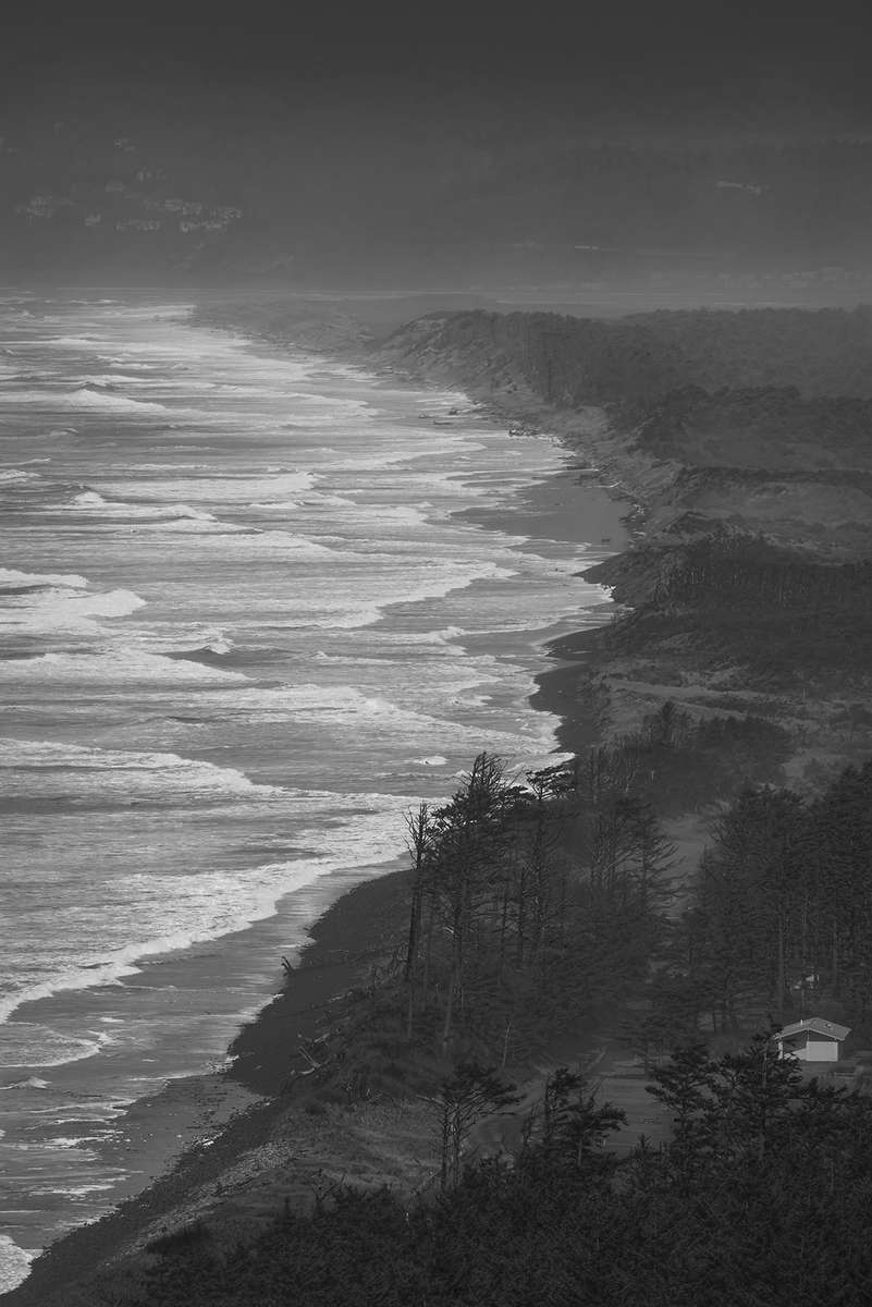 Seascape photographs from the Oregon coast Netarts, OregonImage no: 16-006848-bw   Click HERE to Add to Cart