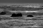Seascape photographs Pacific OceanCrescent City, CaliforniaImage no: 16-005369-bw   Click HERE to Add to Cart