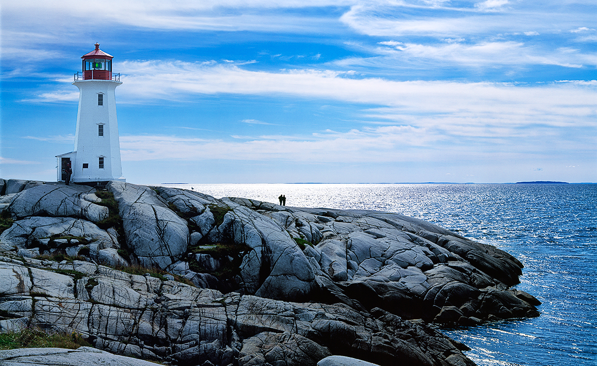 Lighthouse Trail, Nova Scotia, CanadaImage No: 0704474.0910  Click HERE to Add to Cart