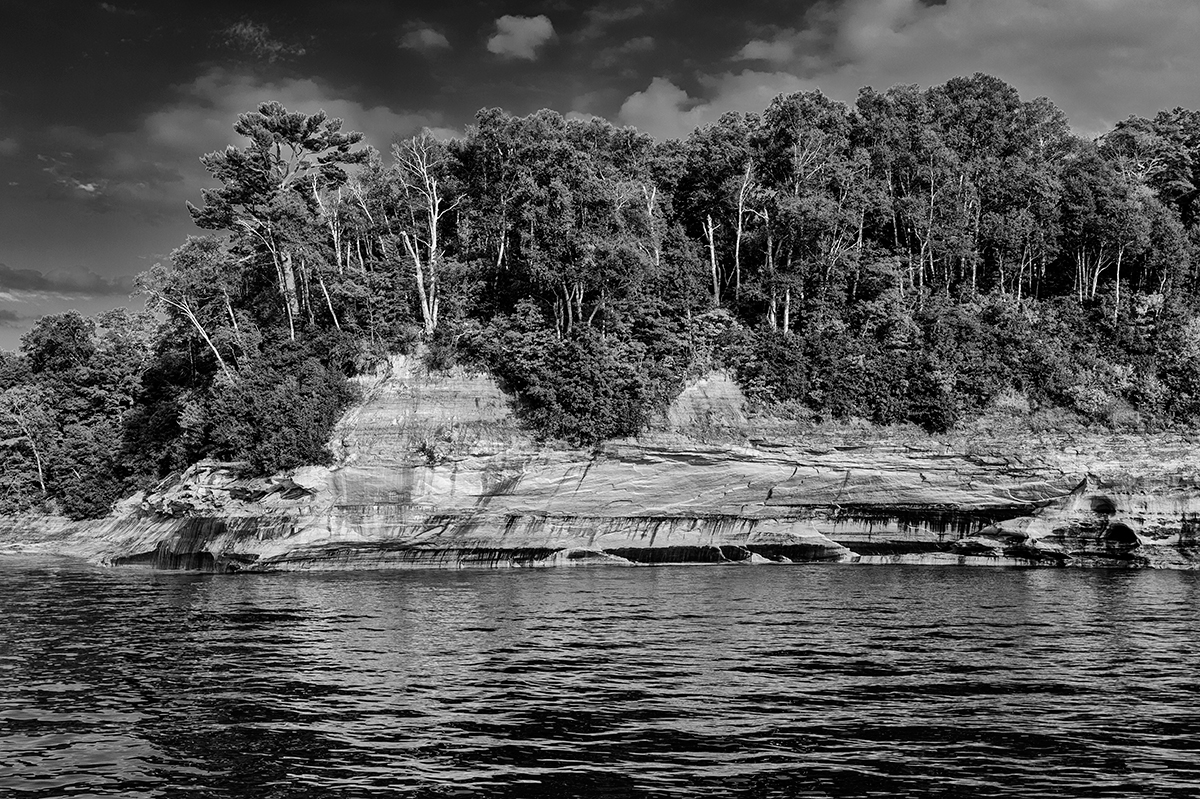 Munising, MichiganImage no: 15-034027-bw   Click HERE to Add to Cart