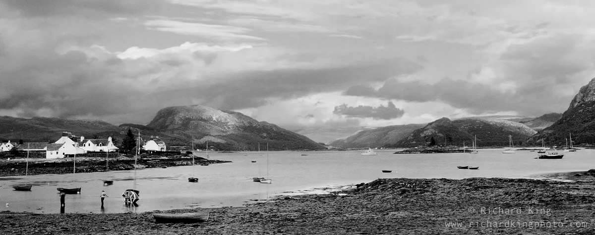 Northwest Highlands of ScotlandImage no: 050511-05bw  Click HERE to add to cart