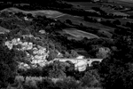 Umbria, ItalyImage No: 15-029277-bw  Click HERE to Add to Cart