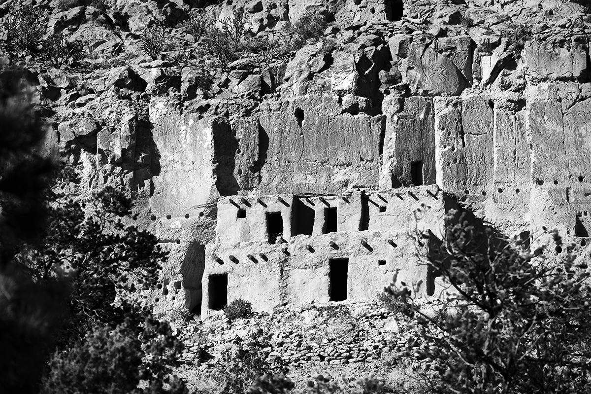 National Historic Landmark in Santa Clara Canyon, NMImage no: 17-020454-bw   Click HERE to Add to Cart