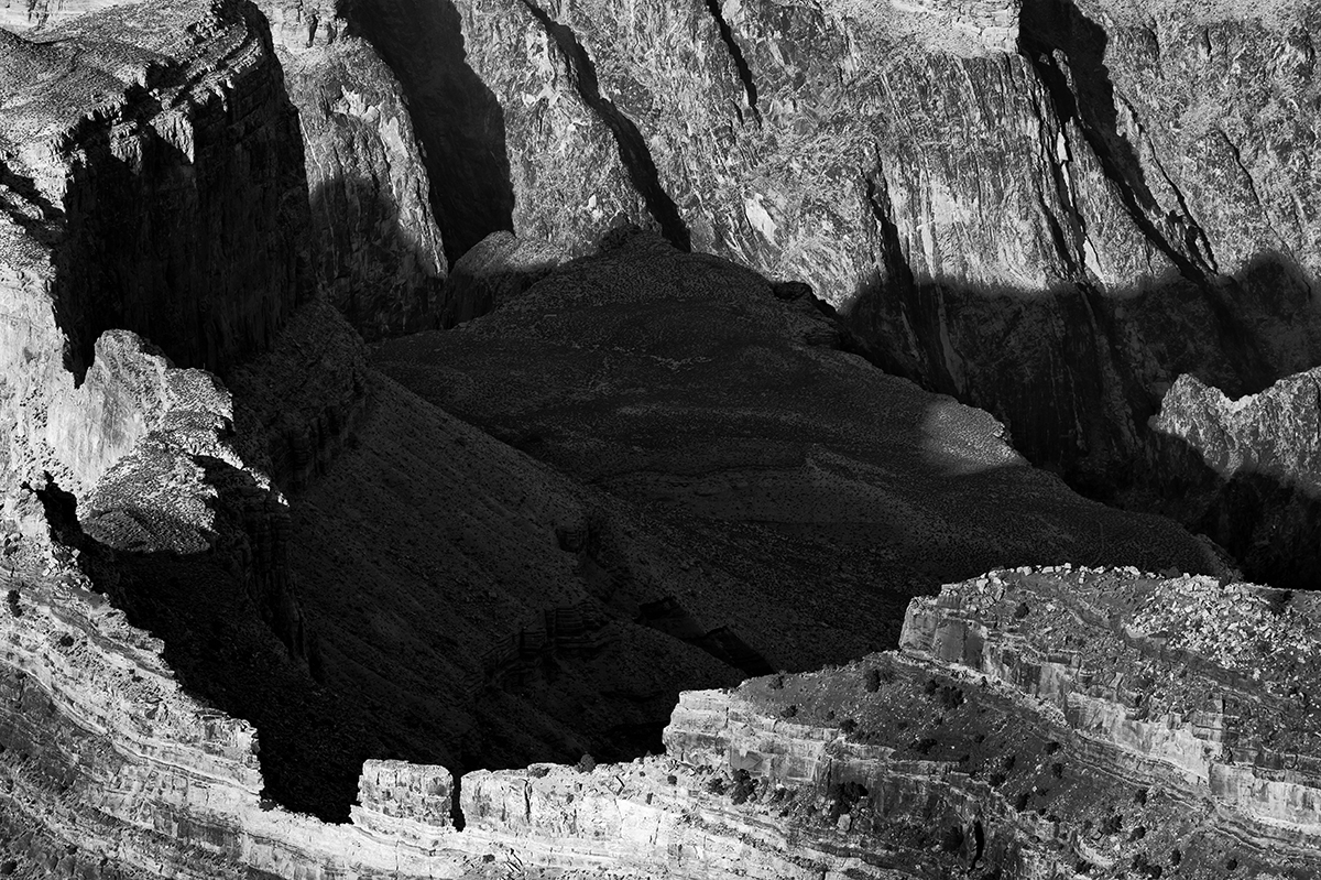 South Rim, Arizona, USAImage No: 13-002467-bw  Click HERE to Add to Cart