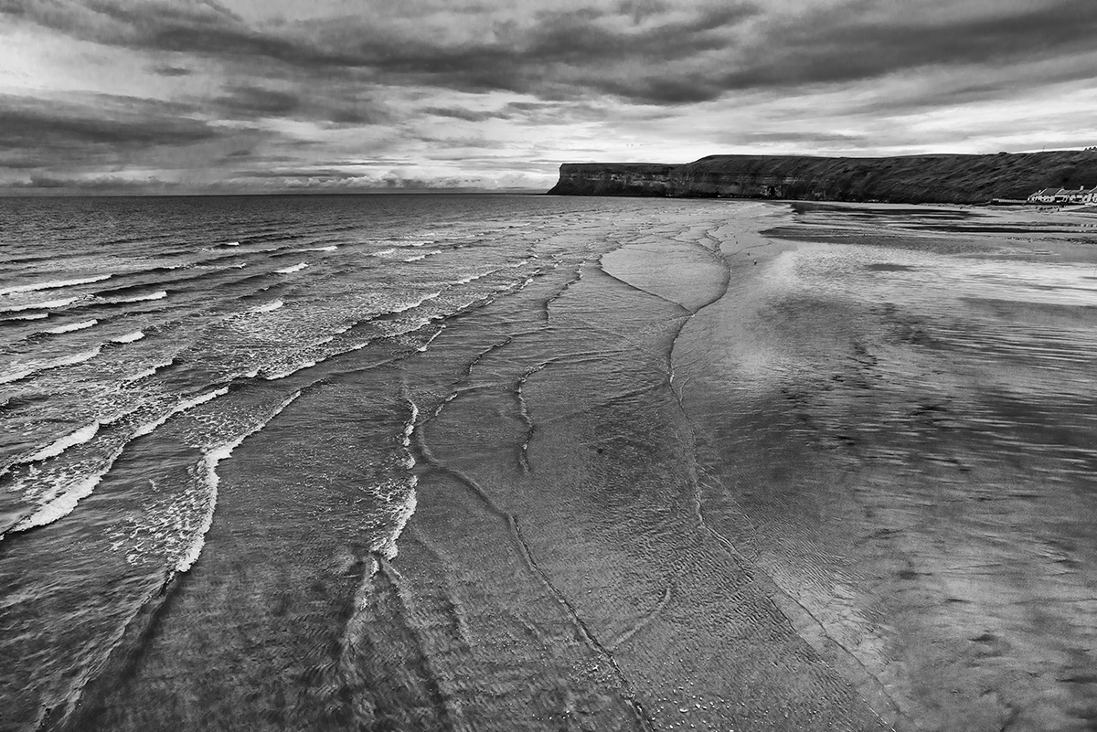 Saltburn, EnglandImage No: 15-032711-bw  Click HERE to Add to Cart