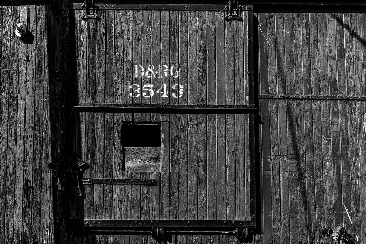 Durango & Rio Grande RailwayImage No: 13-038330-bw   Click HERE to Add to Cart