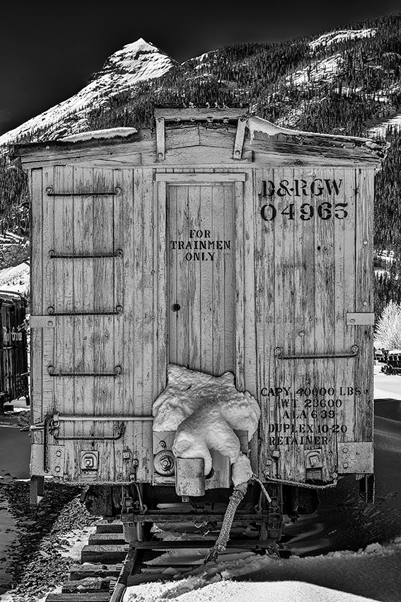 Durango & Rio Grande RailwayImage No: 13-038333-bw   Click HERE to Add to Cart