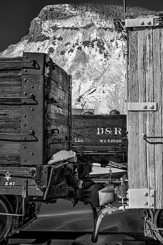 Durango & Rio Grande RailwayImage No: 13-038344-bw  Click HERE to Add to Cart