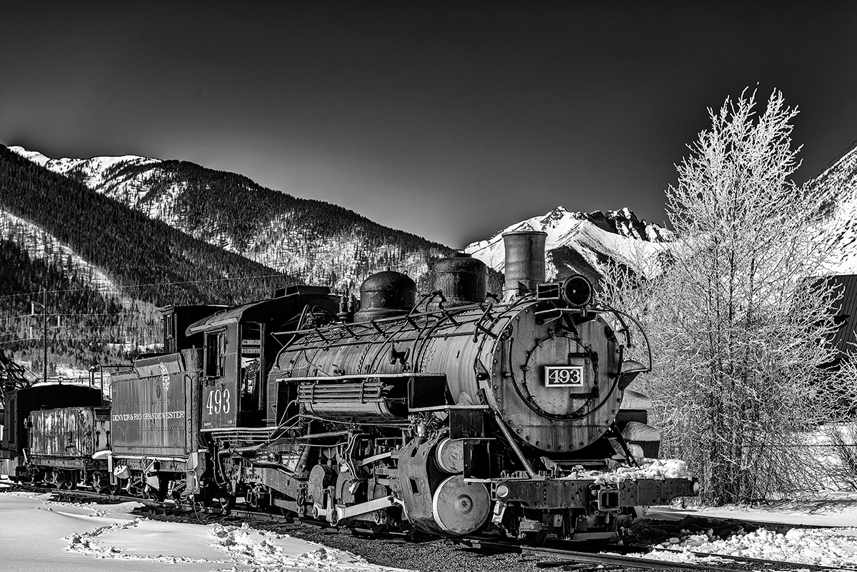 Durango & Rio Grande RailwayImage No: 13-038369-bw  Click HERE to Add to Cart