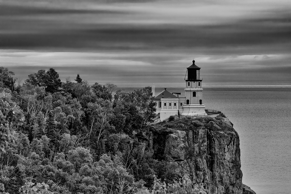 Near Two Harbors, MinnesotaImage No: 15-035350-bw  Click HERE to Add to Cart
