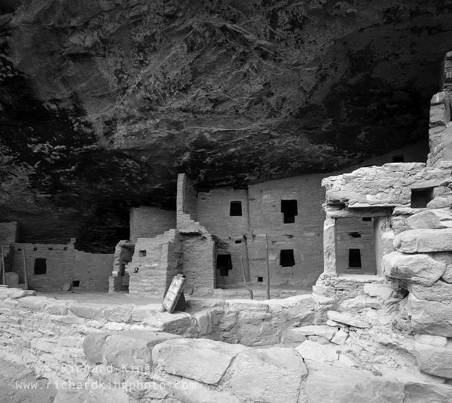 Anasazi Ruin, Mesa Verde National Park, Colorado, USA, fine art print, giclee, pigment-on-paper, http://www.photoshelter.com/c/richardkingphoto/image/I00001cVVtyyT4ME